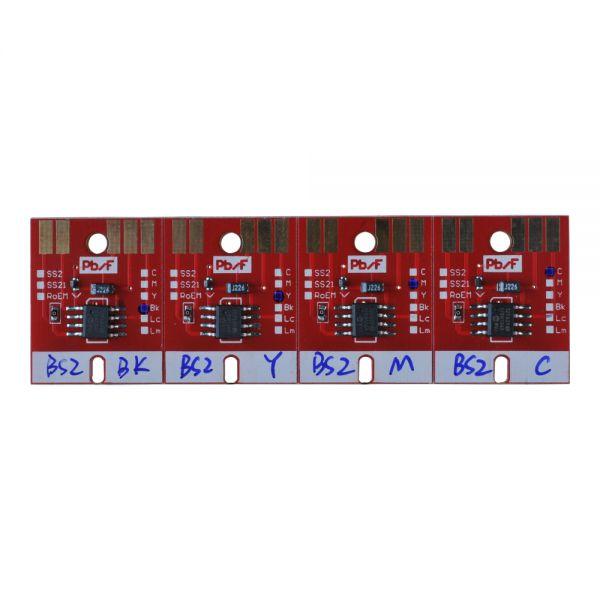 Chip Permanent For Mimaki Jv33 Bs2 Cartridge 4 Colors Cmyk