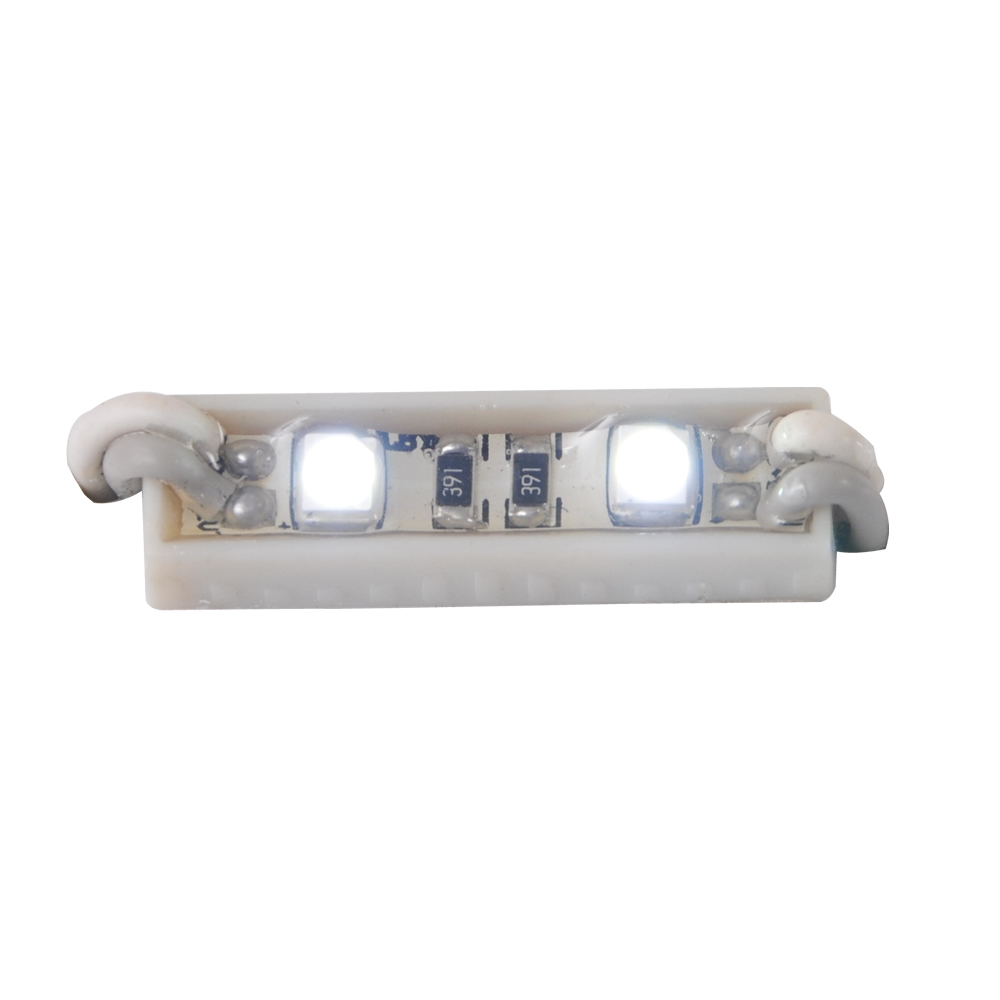 1Pack(100pcs)26mm*7mm Waterproof LED Module(SMD 3528,2LEDs,white light)
