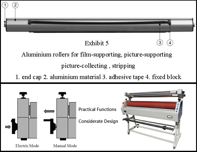 laminator machines structure