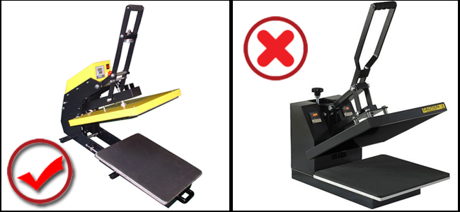 heat press transfers machine comparison