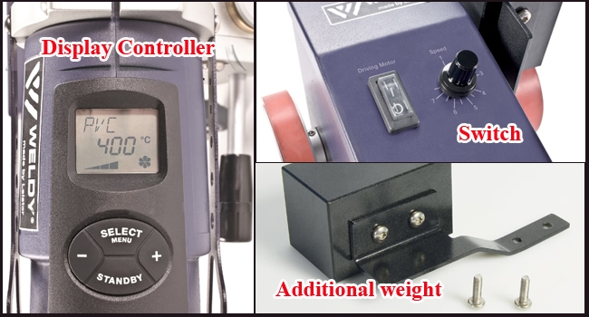 detail for Smart Hot Air Welder