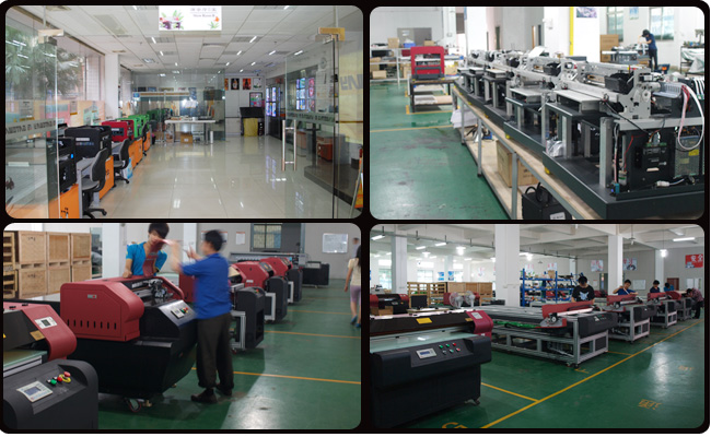 Flatbed Printer production process