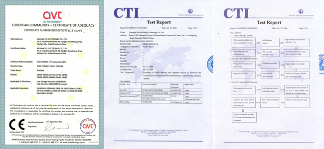 Eco-Solvent Printer&Cutter Digital Wide Format inkjet Machine quality report