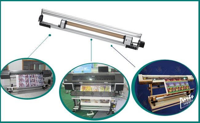 Automatic Media Take-up Roller for Mutoh VJ1604 application