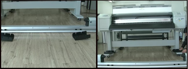 Automatic Media Take-up Roller for Mutoh VJ1604 usage
