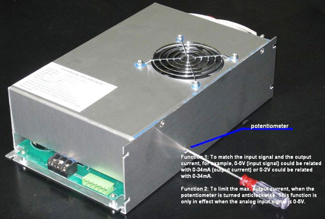 Reci Power Supply for 130 - 180W W6 / W8 CO2 Laser Tube