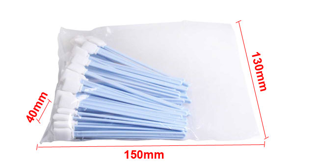[$ 17 34] 50pcs Large Foam Cleaning Swabs for Epson / Roland / Mimaki /  Mutoh Inkjet Printers 9