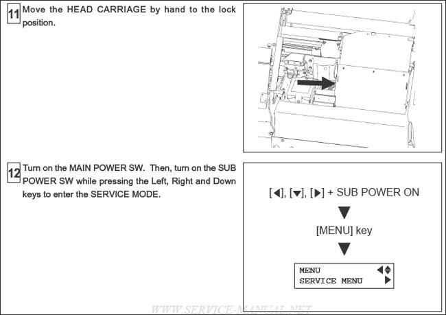 Roland FJ-540/FJ-740 Water Based Ink Pump usage 2