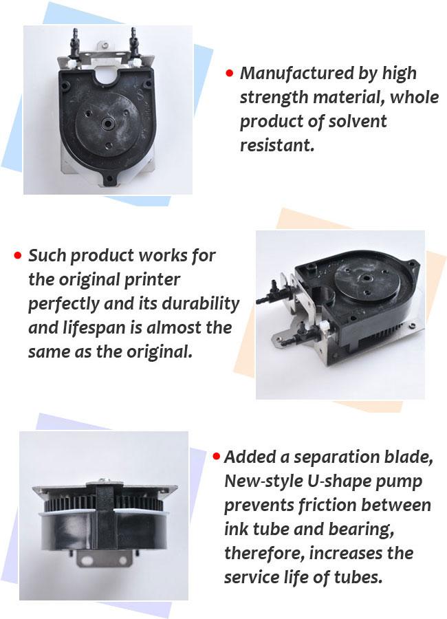 Roland XJ-540/XC-540 Solvent Resistant Ink Pump details