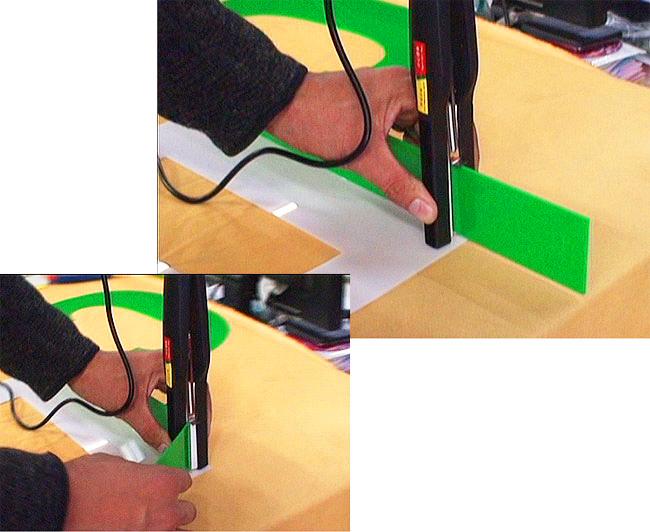 Acrylic Box Letter Making : Pcs set manual bending machine bender tool for acrylic