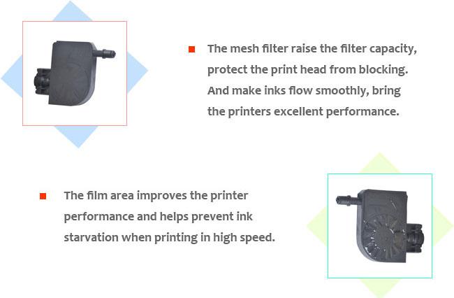 Epson DX5 UV Ink Damper Details