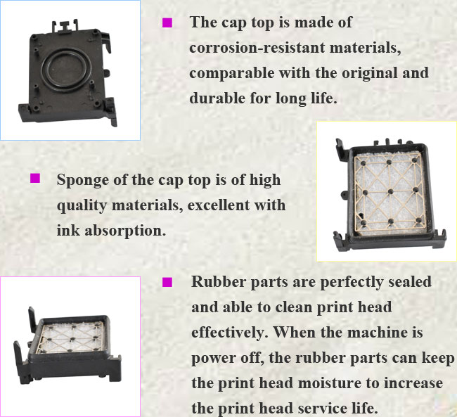 Epson Stylus Pro 7880/9880 Solvent Capping Unit details