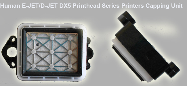Human E-JET/D-JET DX5 Printhead Series Printers Capping Unit details