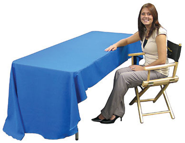 Economy 6ft Printed Table Throw Dye-sublimation Printing