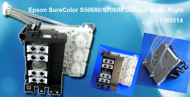 Epson SureColor S50680/S70680 Damper Assy. Right - 1588514