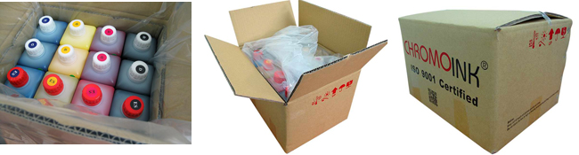 1 Liter Fluorescent Dye Sublimation Ink package