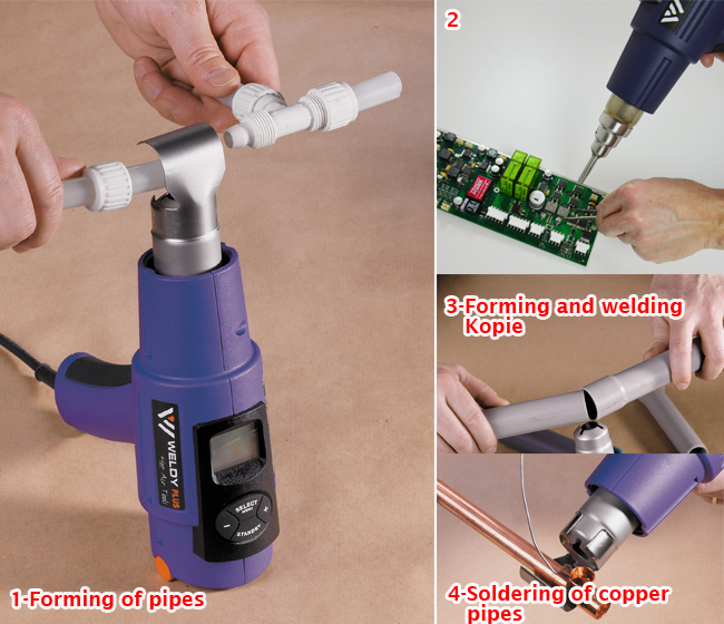 Hot Air Wind Blower Plastic Heat Gun