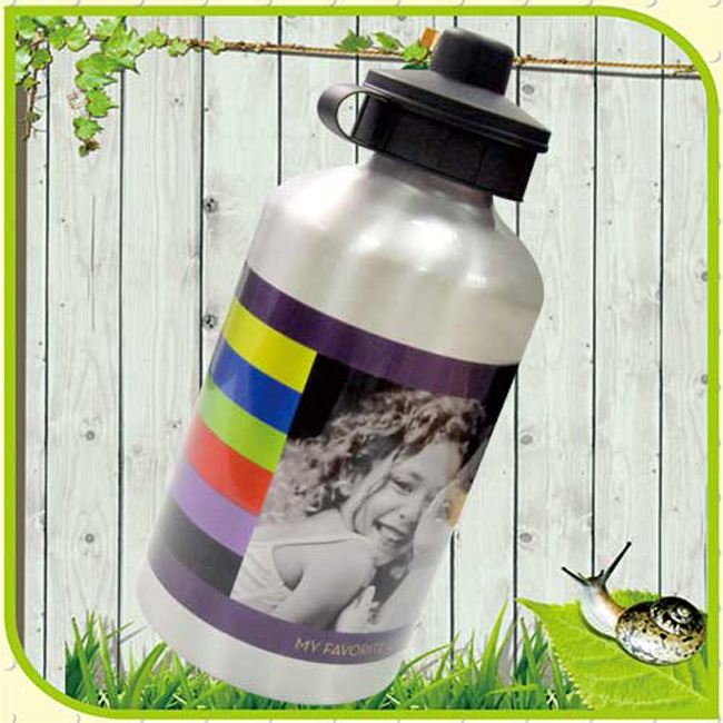 Blank Silver Sport Bottle for Sublimation Printing