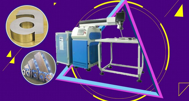 500W Dual Optical Path Laser Welding Machine for Fine Metal Channel Letter Making