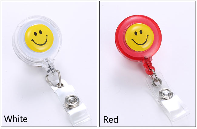 Clip Retractable Reel ID Badge Card Holder Key Chain Reel