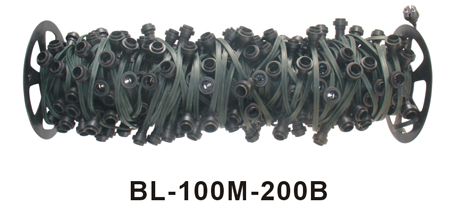 Belt Light Set-10m cable with 20 E27 socket
