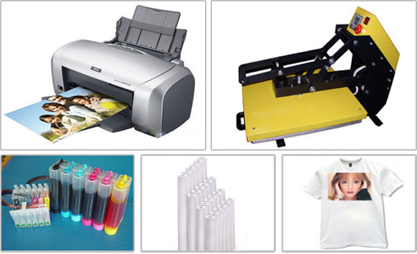 The Processing of T-shirt Transfer Printing by Inkjet