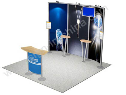 10×10(feet) Inline Fast Exhibition Trade Show Display