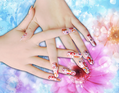 Nail Art and Adornment Printer(Multifunctional,With Camera)