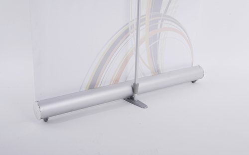 Super Portable Silver Base Roll Up Banner Stand (33