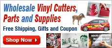 Wholesale Vinyl Cutters, Parts and Supplies