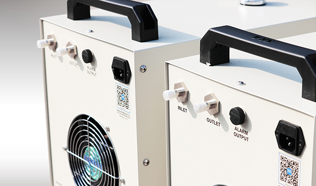 [$ 126 49] S&A CW-3000AG Thermolysis Industrial Water Chiller (AC220V 50Hz)  for 60W or 80W CO2 Glass Laser Tube