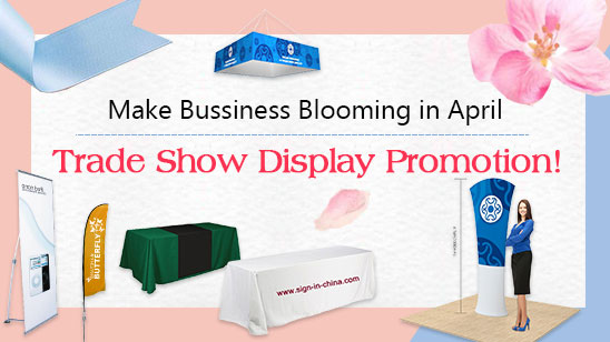 Make Bussiness Blooming in April!