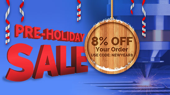 8% OFF Your Order On Sign Making Products