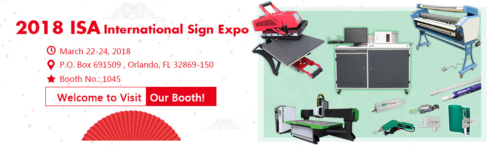 ISA Sign Expo 2018, Let's Have a Date!