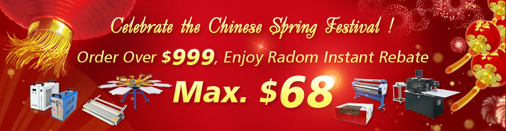Happy Chinese Spring Festival! Come and Try Your Luck!