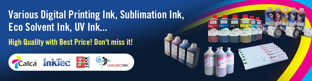 Various Digital Printing Ink for Your Choice!