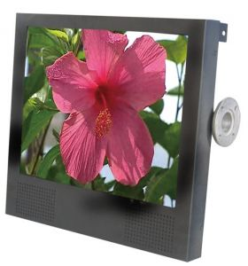 15 inch LCD Advertising Player with Back Hitch Fixing Structure