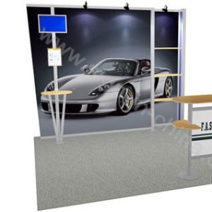 10×10(feet) Fast  Exhibition Display Booth Stand