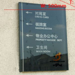 Directional signboard 003