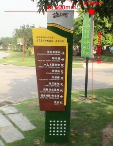 Directional signboard 016