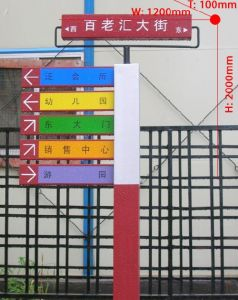 Directional signboard 018