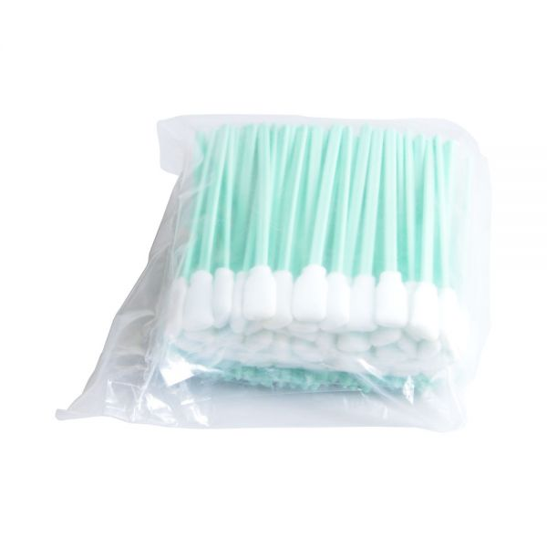 100 Pcs Foam Cleaning Swabs For Epson Roland Mimaki