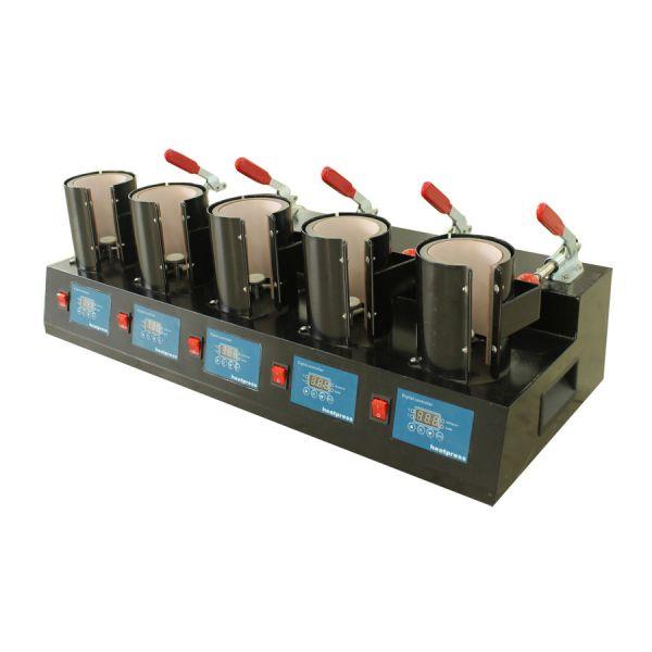 Upgrade High Efficient 5 Digital Cup Mug Heat Press