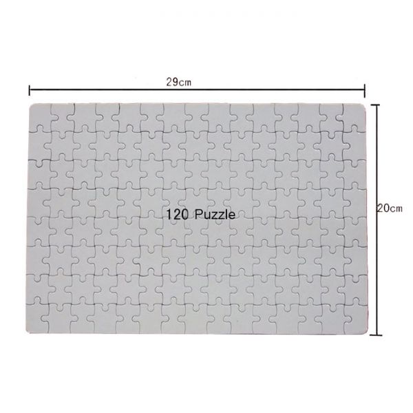Blank Dye Sublimation Magnetic Jigsaw Puzzle 120 Puzzles ...