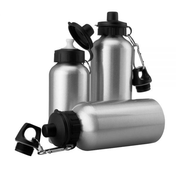Sports Bottle Phone Case: 600ml Blank Silver Sport Bottle For Sublimation Printing