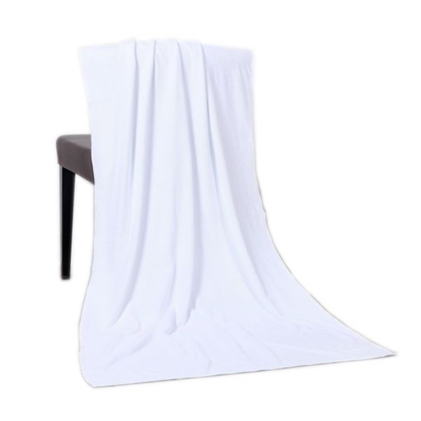 Blank Towel: Sample-Blank White Sublimation Bath Towel Small $1.01