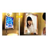 A1 Μέγεθος LED Lighting Ακρυλικό Magic Mirror Light Box