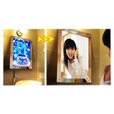 A2 Size LED Lighting Acrylic Magic Mirror Light Box