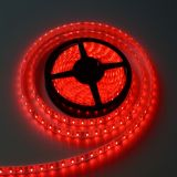 Red Color Flexible LED Light Strip(120 SMD 3528 leds per meter waterproof IP65) 5m/roll