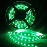 Green Color Flexible LED Light Strip(60 SMD 3528 leds per meter nonwaterproof) 5m/roll